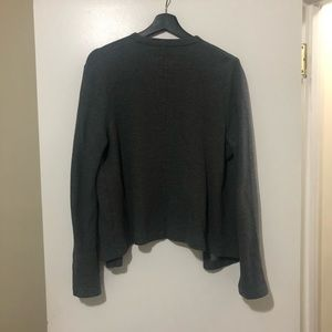 Old Navy Sweaters - Gray Cotton Light Jacket